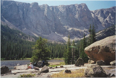 TORRY CREEK CANYON, WIND RIVER RANGE